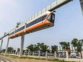 中国人又一次刷新交通出行,悬吊列车横空出世!