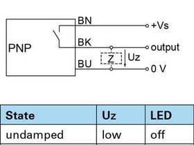 电感式传感器技术连接图