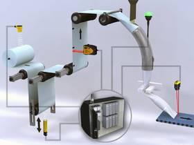 立式自动填充包装机解决方案-超声波传感器