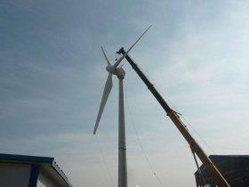 传感器在风力发电机塔吊上的解决方案