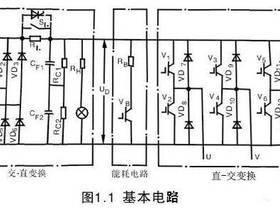 变频器基本电路图分析