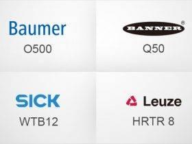 性能对比|邦纳Banner, 西克Sick,堡盟 Baumer,劳易测 Leuze 光电传感器出光轴指向性能对比【买道测评】