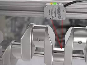 传感器的应用|LM150激光测量传感器曲轴测量的应用选型及解决方案