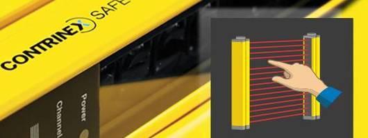 Contrinex 堪泰可用在大多数工业场景的手指防护安全光幕,经济解决方案。