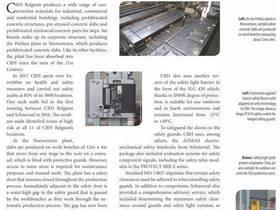 【应用】施迈赛安全光栅建筑材料行业的应用解决方案
