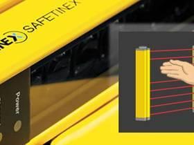 Contrinex  堪泰可用在大多数工业场景的手防护安全光幕,经济解决方案。